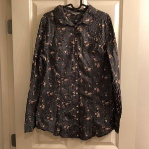 Nordstrom Rubbish Button-up Shirt XL